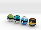 Pokeballs (Set 05) in Full Color Sandstone