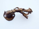 Dragon Cabinet Handle - Facing right in Stainless Steel