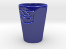 Coradia Coffe Cup in Gloss Cobalt Blue Porcelain