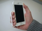 secureGrip for iPhone 5/5s in White Strong & Flexible