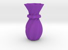 Decorative Vase in Purple Strong & Flexible Polished