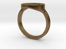 Dark Souls inspired Hornet Ring in Raw Bronze: 9.5 / 60.25