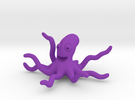 Octopus in Purple Strong & Flexible Polished