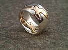 Bird Ring-Bird (buy with Bird Ring - Sky) in Polished Silver: 7 / 54