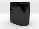 InsideCup in Gloss Black Porcelain