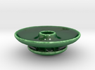 Hole Bowl for Olives in Gloss Oribe Green Porcelain