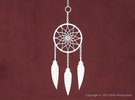Dreamcatcher in White Strong & Flexible