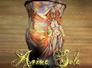 """Anima Sola"" Vase in Full Color Sandstone"