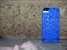 LDN IPhone 5 Cover in Blue Strong & Flexible Polished