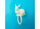 Ring Rabbit 17 size S in White Strong & Flexible
