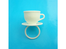 Ring Cup 17 size S in White Strong & Flexible