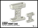 EzUHF v4 mount case in White Strong & Flexible