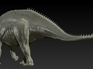 1/40 Amargasaurus - Walking in White Strong & Flexible