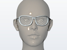 Nanotech Sunglasses in White Strong & Flexible