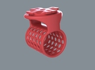 BarBone in Red Strong & Flexible Polished