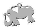 ElephantLove in Polished Silver