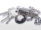 Belt Clip with Bottle Opener in Stainless Steel