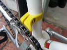 Chain Catcher Road 31.7mm in White Strong & Flexible
