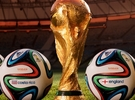 Fifa World Cup in Polished Gold Steel