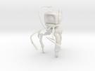 Mechanical Martian Tripod 15mm 1:100 in White Strong & Flexible