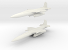 IM-99 Bomarc 1/285 6mm (Two models) in White Strong & Flexible