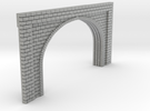 N Scale Tunnel Entrance Double Track 1:160 in Metallic Plastic