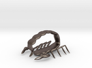 scorpion sml sting pendant in Stainless Steel