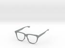 Delight Specs in Polished Metallic Plastic