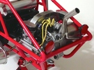 FA10002 Engine Exhaust for Tamiya Wild One, FAV in White Strong & Flexible Polished