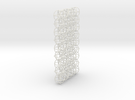 A 3D mesh & 2D chain in White Strong & Flexible