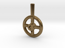 Steam Valve Handwheel - 1/2' dia. in Raw Bronze
