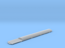 Replacement Bachmann Mk1 Roof 309 with Cab End Pan in Frosted Ultra Detail
