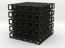 interlocked cubes 5 in Black Strong & Flexible