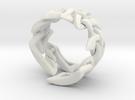 Celtic Weave 02 in White Strong & Flexible