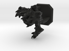 Fire elemental miniature in Black Strong & Flexible
