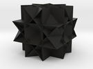 Uniform Gt. Rhombicuboctahedron2 in Black Strong & Flexible