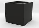 Wuerfel 1cm3 offen in Black Strong & Flexible