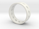 lightning ring in White Strong & Flexible