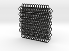 Chain Maille (European 6 in 1) in Black Strong & Flexible