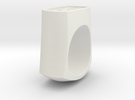 Signet Ring in White Strong & Flexible