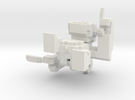Small Pixel Monkey in White Strong & Flexible