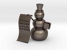 Snowman wishlist in Stainless Steel