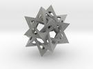 Five Tetrahedra in Metallic Plastic