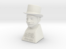 "2"" Alfred Einstein in White Strong & Flexible"