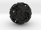 Starball Pendant in Black Strong & Flexible