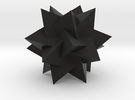 Compound of 5 Tetrahedra in Black Strong & Flexible