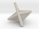 d6 die-pyramid blank in Sandstone