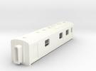 N Scale Werkspoor Dundalk Gen Van in White Strong & Flexible Polished
