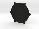 Cleanroom Inlet Fan Endcap 1 of 2 in Black Strong & Flexible