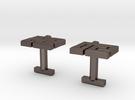 MICufflink in Stainless Steel